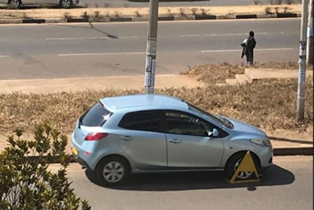Council embarks on clamping wrong parked vehicles in Lilongwe City