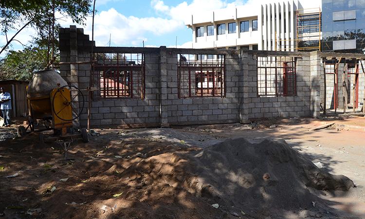 Construction of Lilongwe DEM's Office in Area 3