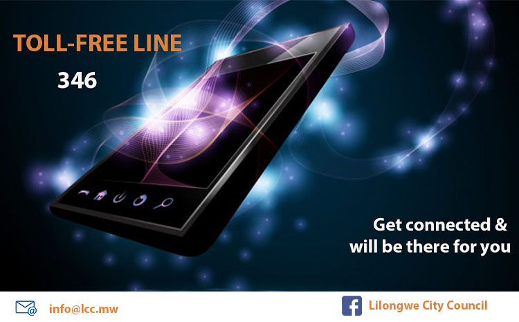 Featured above are Toll-Free line & other related channels availablefor our clients