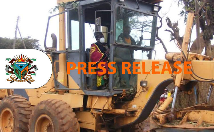 Launch of the road grading program for Lilongwe City South West Constituency